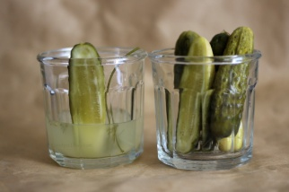 dill pickles after