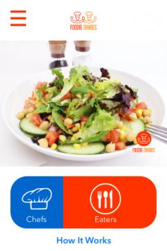 foodie shares salad
