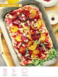 SMAQ beet pizza