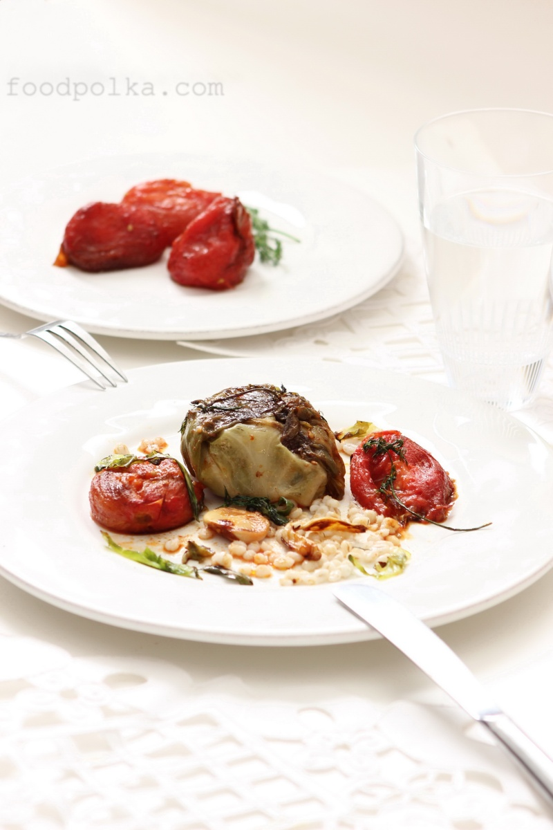 05 08 14 stuffed cabbage rolls beef roasted tomatoes (12) FP
