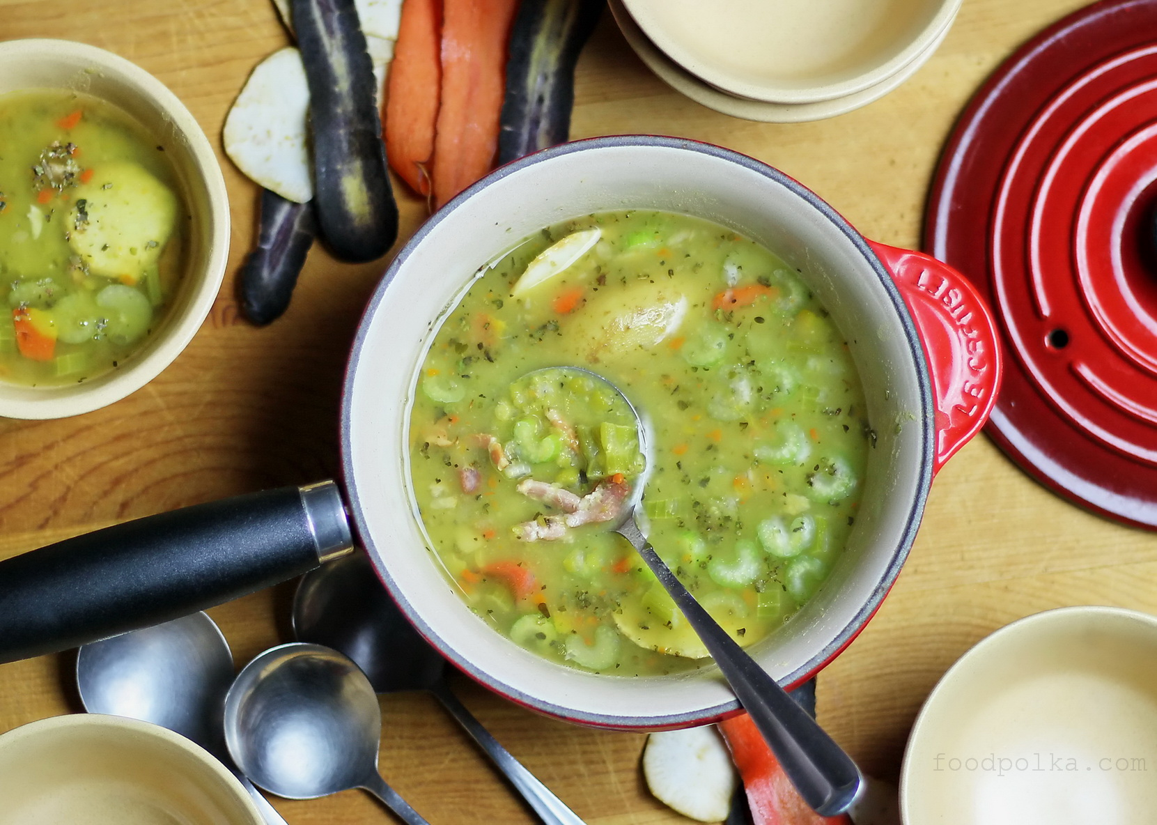 Split Pea Soup Inspired By Polish Military Field Kitchens Food Polka