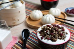 granola chinese black sesame foodpolka