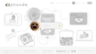Phoode.com Online Food Photography Platform Search Modal Design