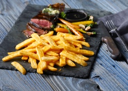 Weston Lambs food stylist Coated_Steak_Fries_with_steak_F