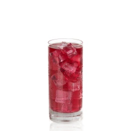 Minute Maid Fruit Punch Glass On-White