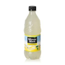 Minute Maid Lemonade Bottle On-White