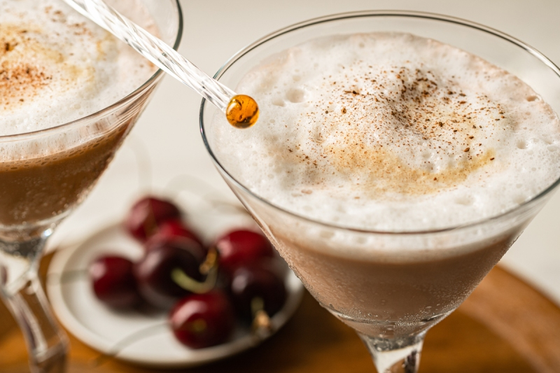 Cappucino Martini Cocktail Drink Marta Fowlie Food Polka Ricardo Mora